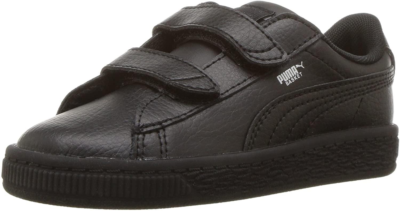 PUMA Kids' Basket Classic LFS Velcro Sneaker,