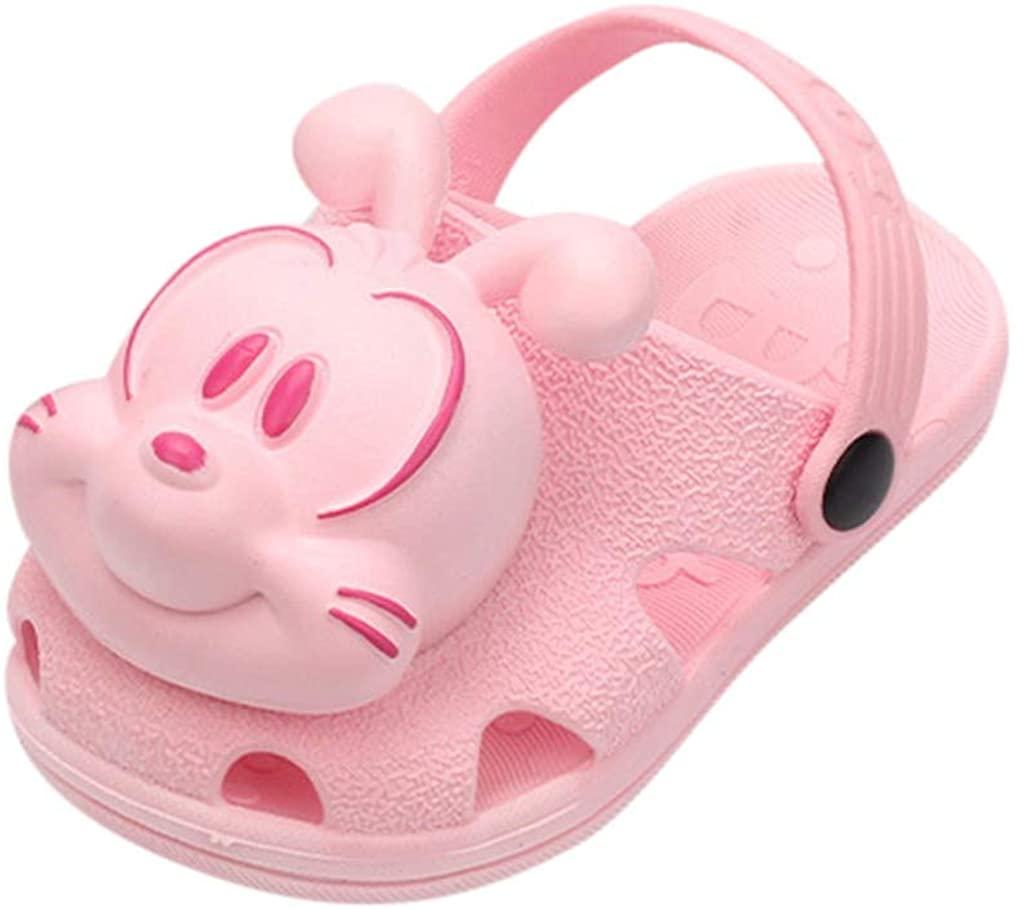 Gergeos Baby 3D Puppy Cartoon Clogs Summer Beach Sandals Toddler Boys Girls Slipper Water Shoes