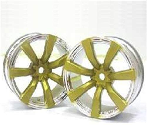 Parts & Accessories 4pcs 1/10 RC Drift On Road Plastic Wheels Rims for rc Hobby Car - (Color: Gold)
