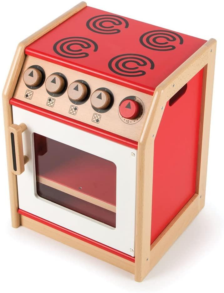 Tidlo Wooden Cooker Unit - Pretend Play