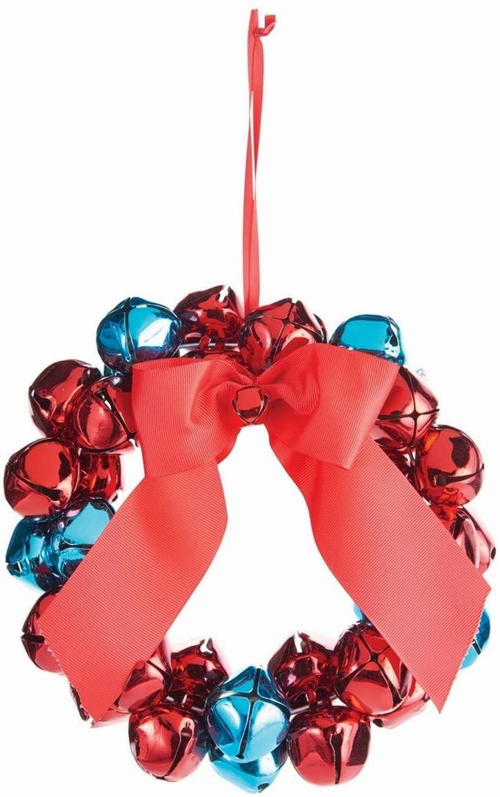 Napa Home & Garden Jingle Bell Wreath Ornament 8.5