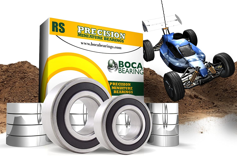 Traxxas Slash 4X4 Ultimate 1/10 Elec Off Road Econo Power Rubber Seal Bearings