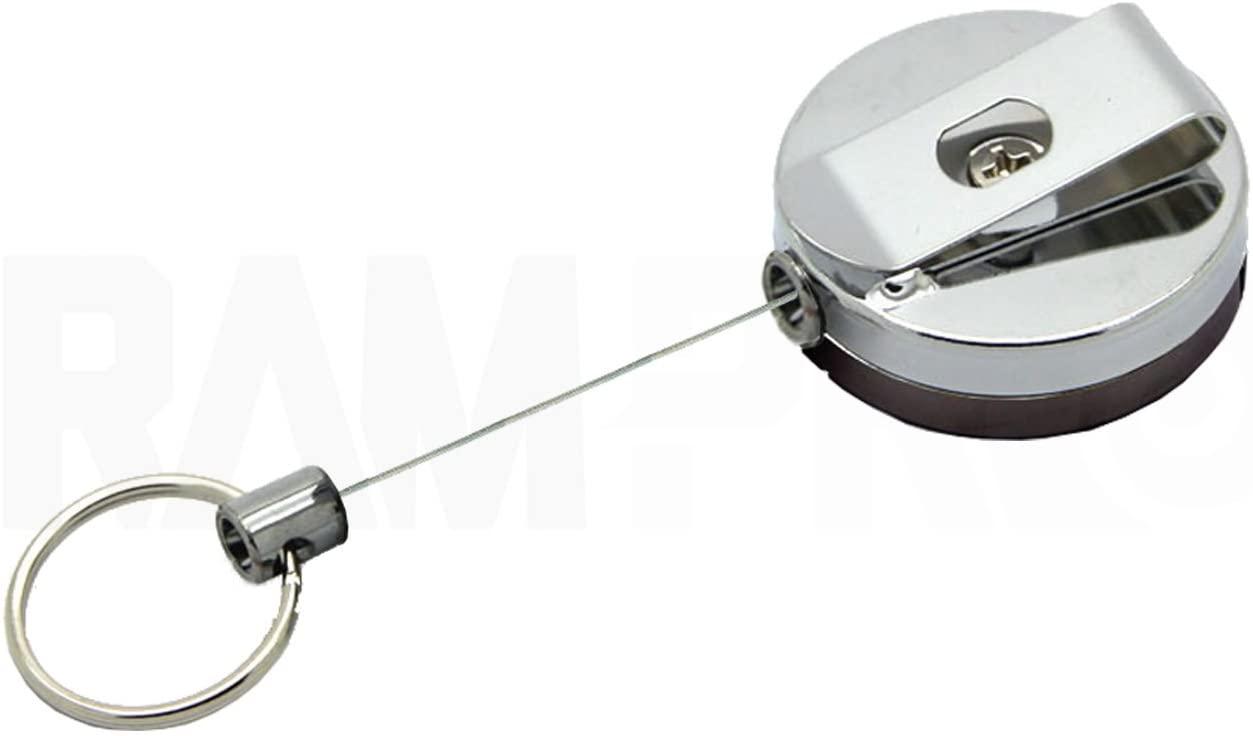 Heavy-Duty RAM-PRO Retractable Key Chain Reel 36