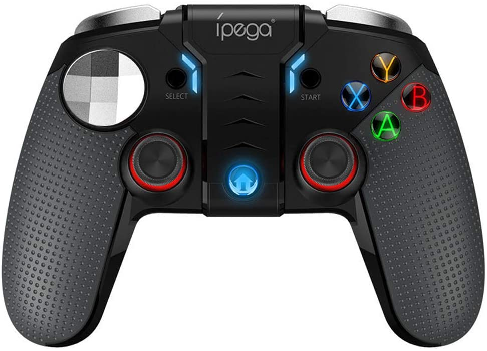 Lee Lam Android Game Controller Mobile Gaming Controller 2.4G Wireless 4.0 Bluetooth Gamepad with Joystick, Multimedia Game Controller Compatible with Android Mobile Phone PC Android TV Box