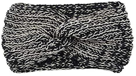 Centory Knit Headbands Turban Headband Ear Warmer Crochet Head Wraps for Women Girls
