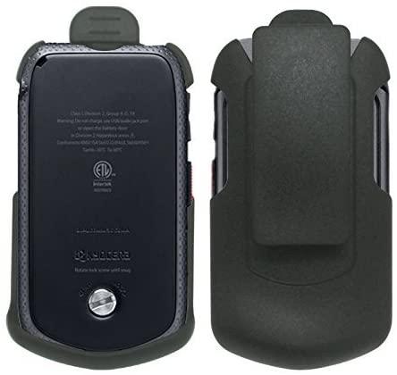 Cbus Wireless Black Holster Case w/Ratcheting Belt Clip for Sprint Kyocera DuraXTP E4281
