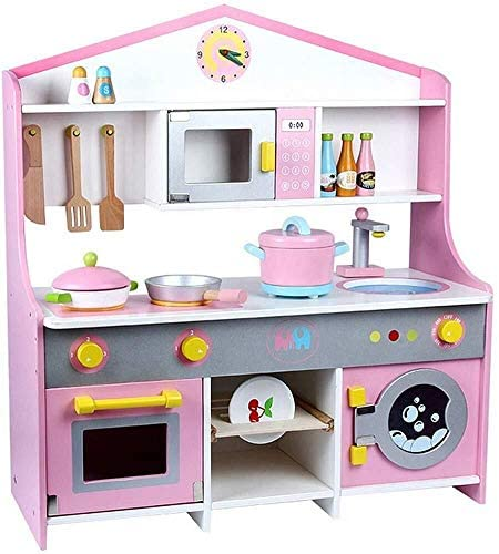 DRXRD Children's Interesting Toy Kitchen Cooking Set Cosplay for Kids Early Age Development Educational Pretend Play Food Assortment Set 0308