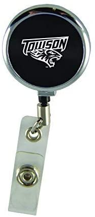 LXG, Inc. Towson University-Retractable Badge Reel-Black