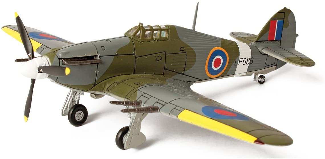 Forces of Valor Smithsonian Series U.K. Hurricane RAF Serial Number LF686 Aircraft