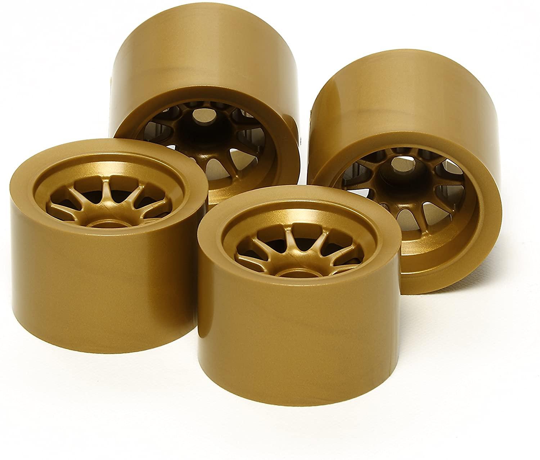 Tamiya 300054525°F104Sponge Rubber Wheels Set (2+ 2Gold