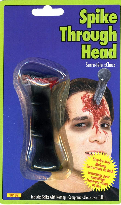 Spike Head Halloween Prosthetic