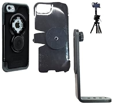 SlipGrip Tripod Mount for Apple iPhone 8 Using Rokform Crystal Case