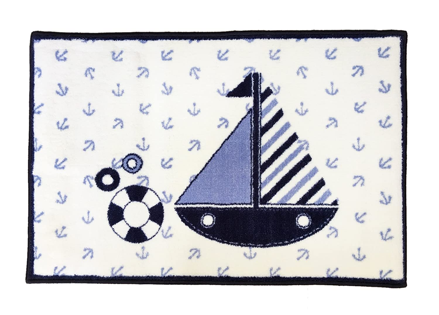 Bacati - Little Sailor Rug 24 X 36 Inches