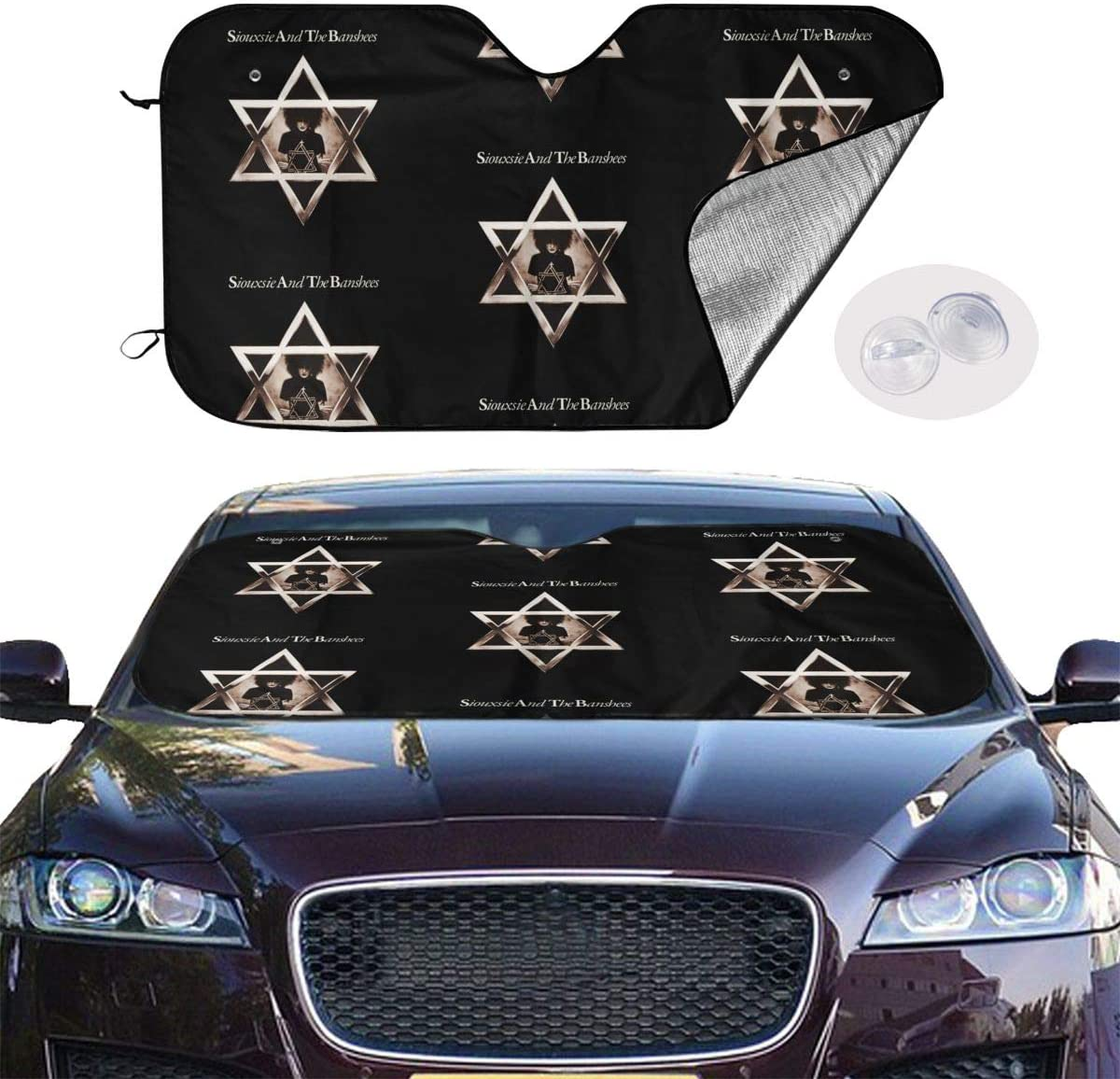 NOT Siouxsie Universal and Stylish Car Windshield Visor
