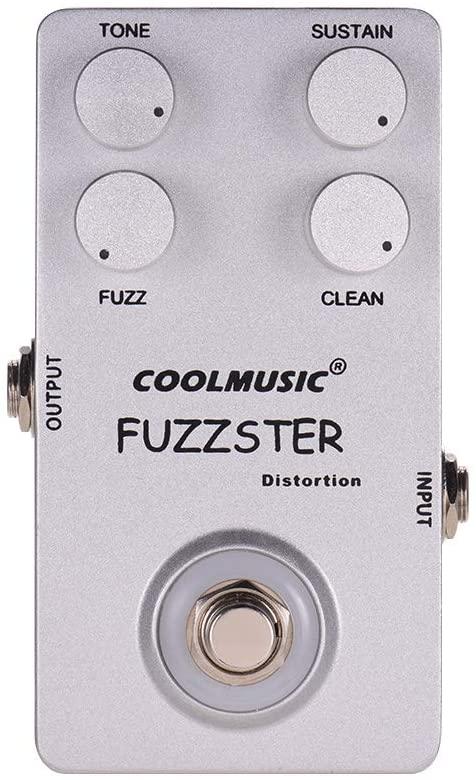 Coolmusic C-FC1 Fuzz Distortion Guitar Effect Pedal True Bypass
