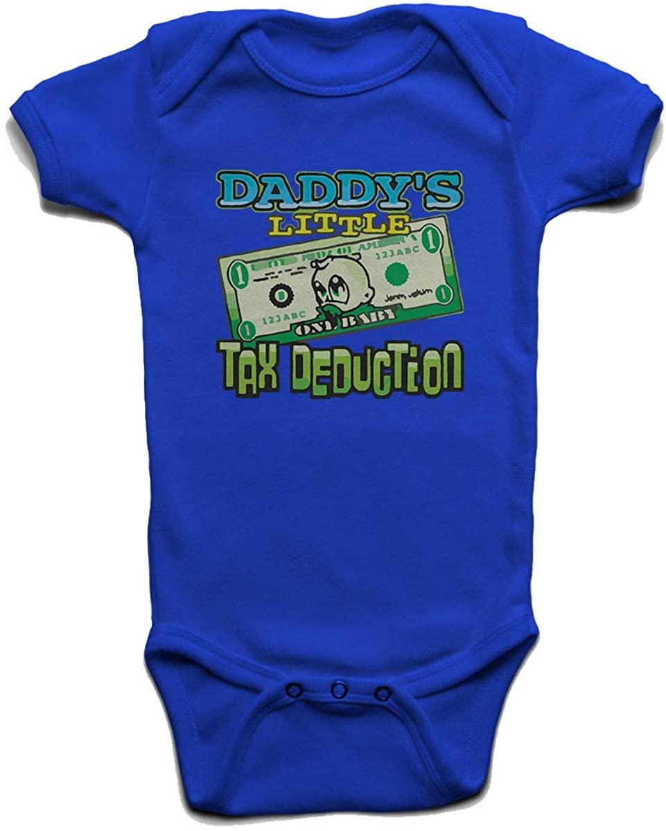 Custom Tshirts and Hats Daddys Little Tax Deduction Baby Boys Girls Onesie