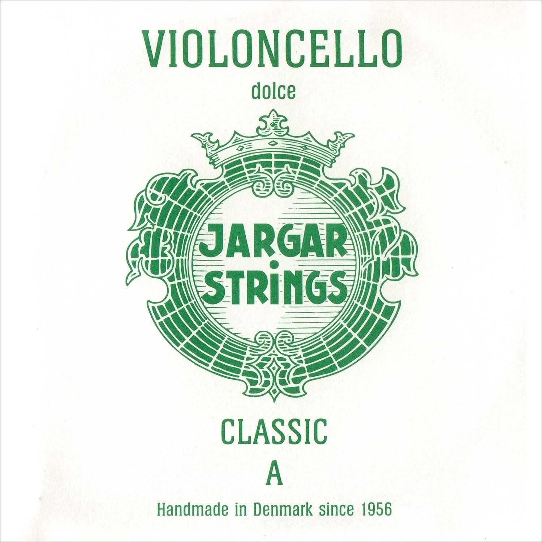 Jargar 4/4 Cello A String Thin(Dolce) Chromesteel