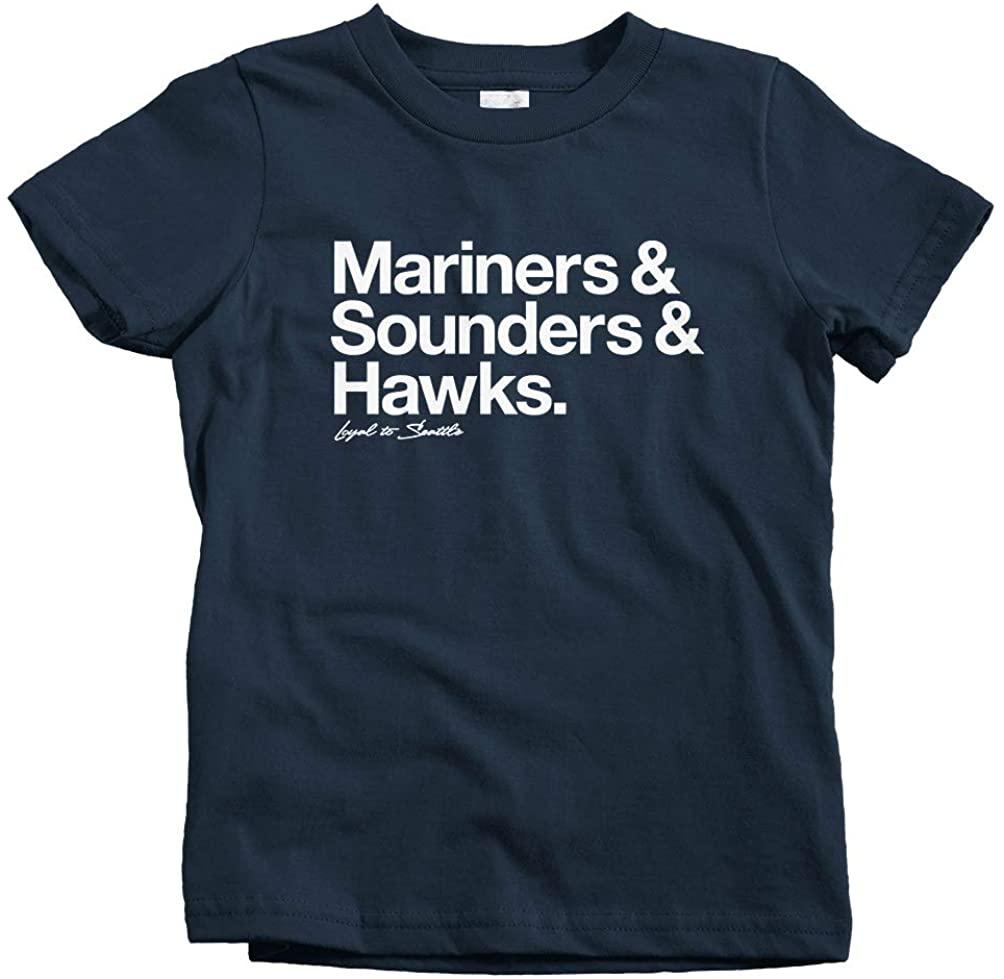 Smash Transit Kids Loyal to Seattle T-Shirt
