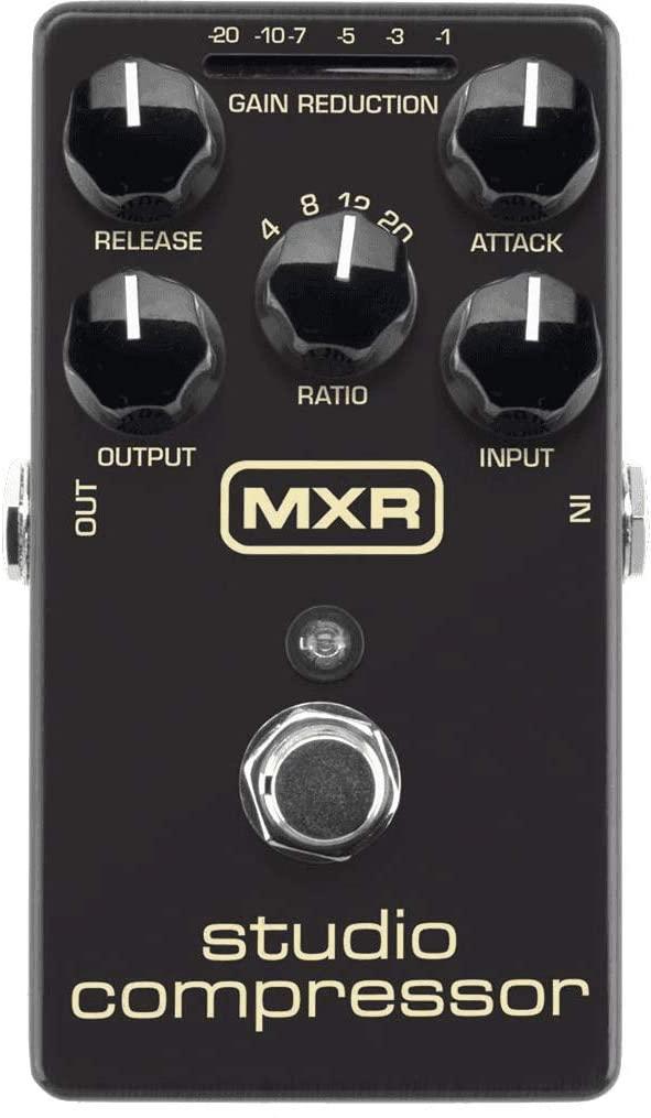 MXR Studio Compressor Guitar Effects Pedal (M76)