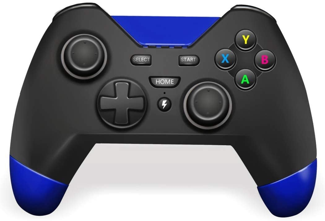 HWZDQLK Game Controller, Wireless Universal Game Controller, Super Responsive, to Hold, Supports Android and iOS