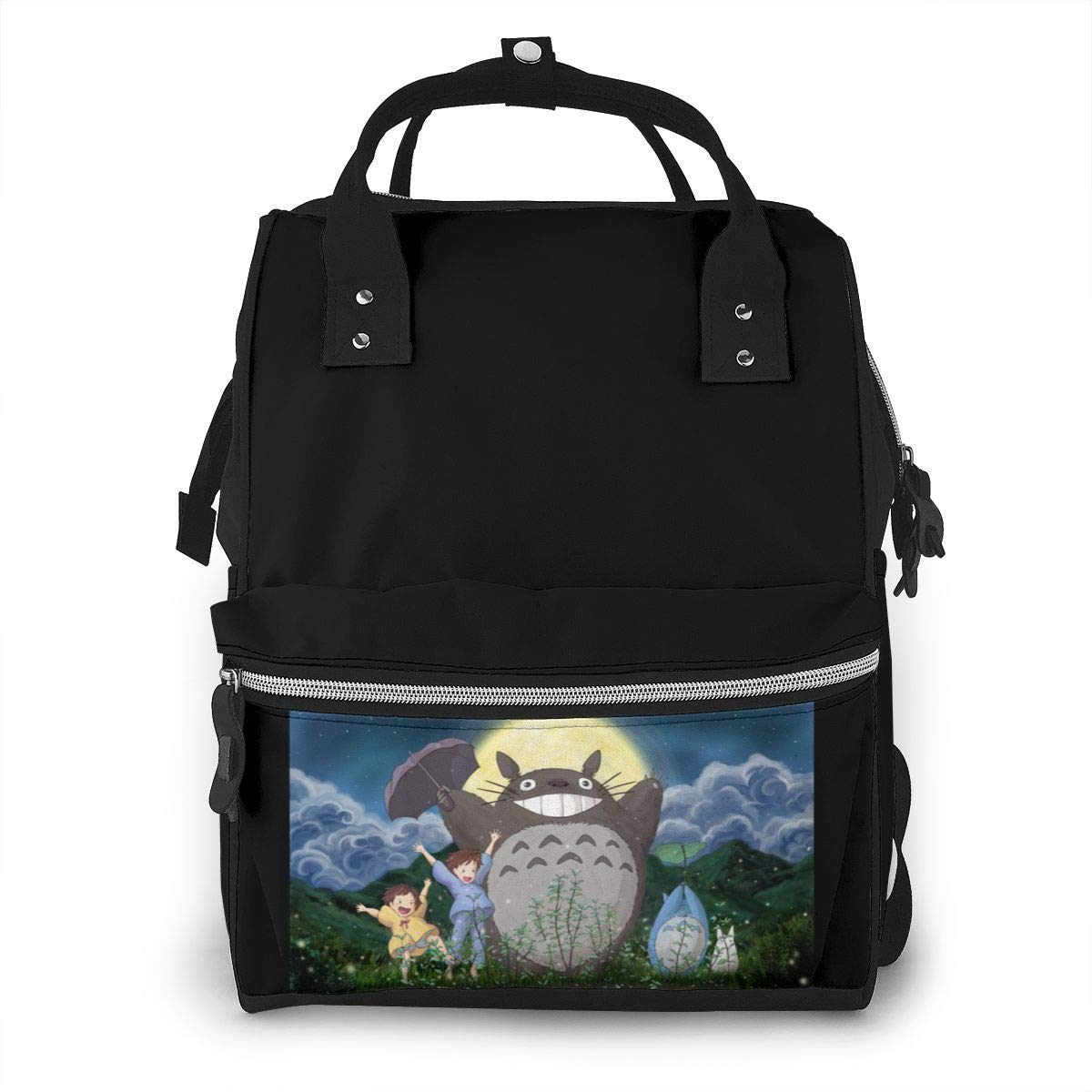 Miyazaki Hayao-Totoro Diaper Bag Multi-Function Waterproof Travel Backpack Nappy Bags for Baby Care Mummy Backpack