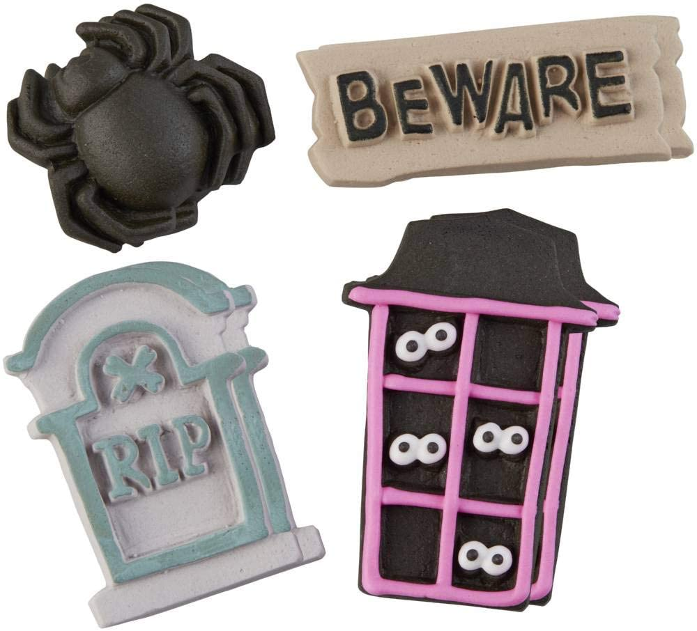 Food Items Icing Decorations, us:one size, Halloween Cookie House