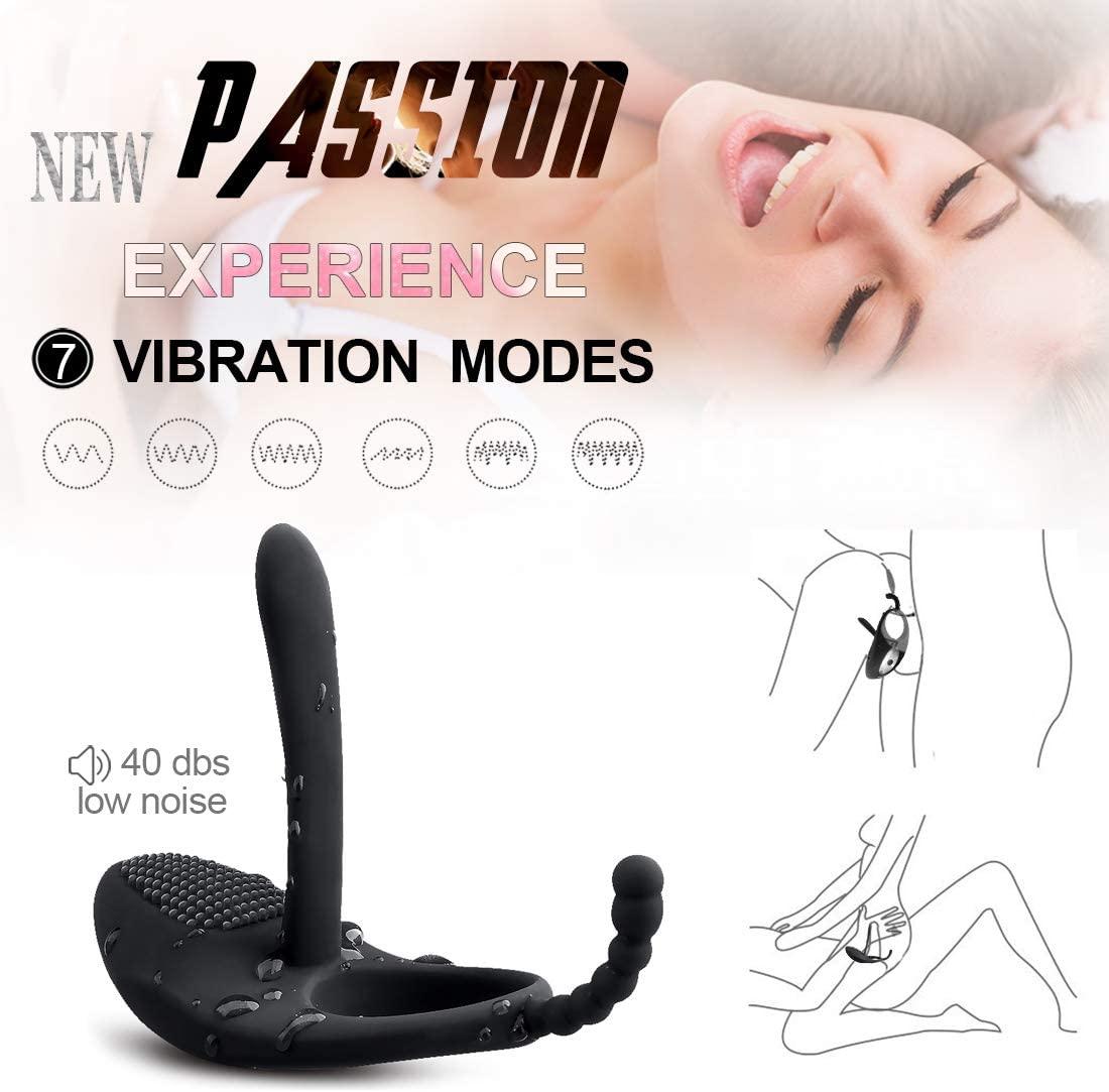 GRADYBROW Rooster Cockring Indulge Pleasure for Him & Her Speed Vibration Ċlóck Ring Body Stimulator Vîbrâte Peńîs Rîńg Best Relaxing Gift Adùllt Érótíč