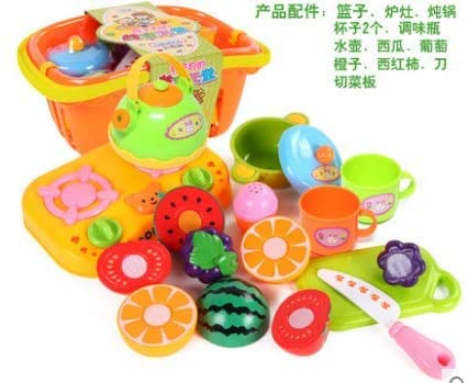 awd Fruit Cut Toys Children Fruit Vegetables Cut Cut Fun Cut House Play Kitchen Toys 1-3