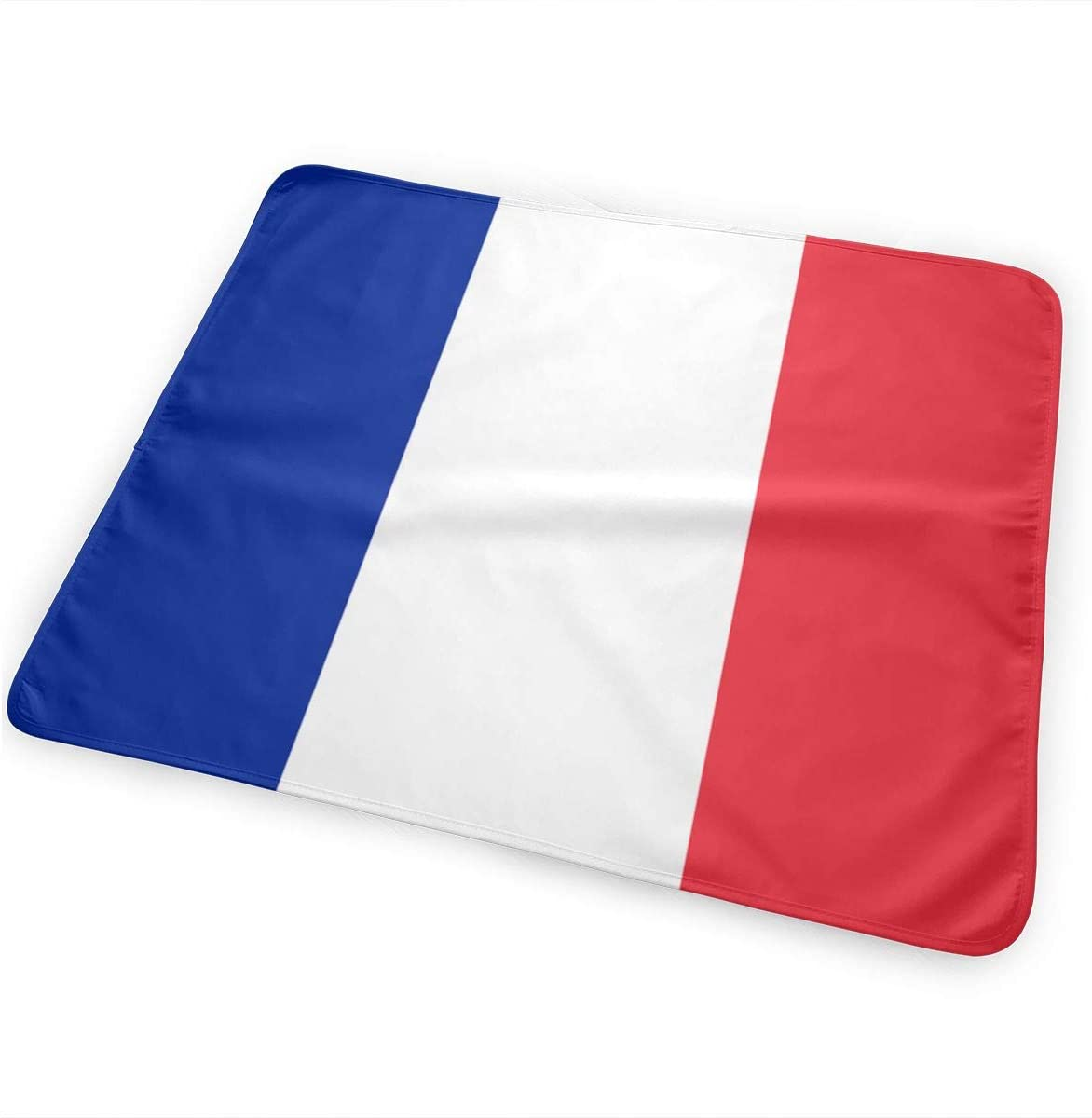 France Flag Breathable Urine Mat Waterproof Changing Pad for Baby Washable Mattress Pad Sheet Protector