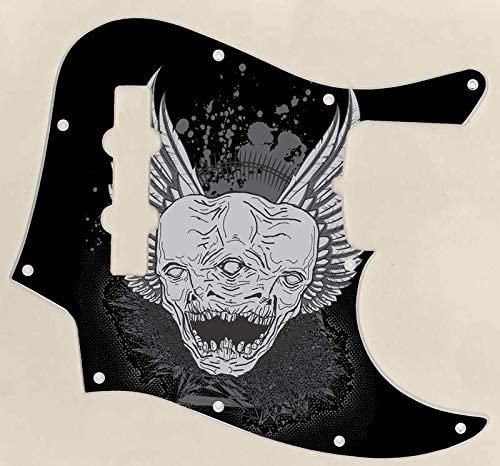 Custom Graphical Pickguard to fit Fender J Bass Jazz Bass Triclops