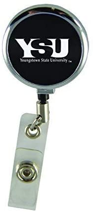 LXG, Inc. Youngstown State University-Retractable Badge Reel-Black