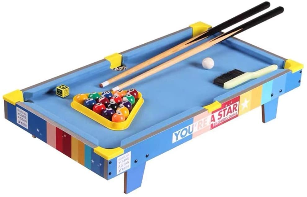 YGO Tabletop Billiards Table for Kids Pool Table Indoor Gama Table 28