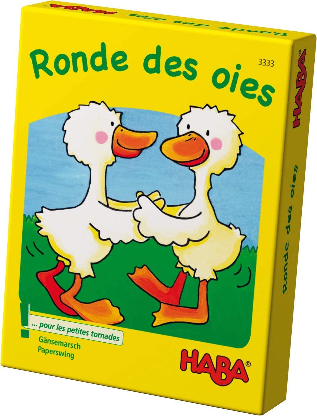HABA !!! JEU DE Cartes - Ronde DES
