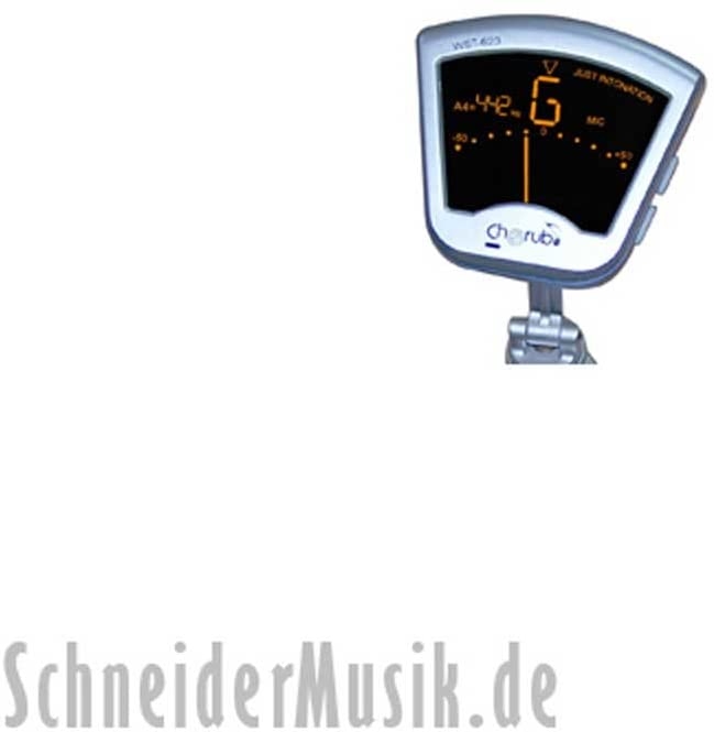 Cherub WST-623 Universal Tuner, silver