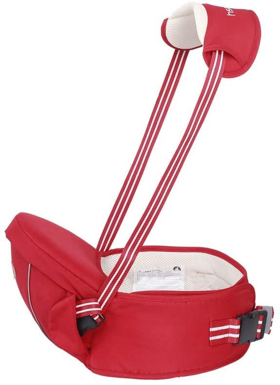 DLDLGJ Baby Born Waist Stool Carrier for Kangaroo Suspenders Multifunction Infant Kids Hip Seat Baby Sling Hold Straps Backpack