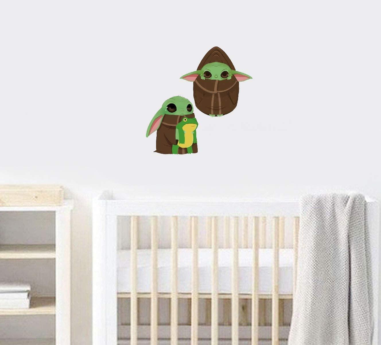 Marydecals Star Wars Baby Yoda Stickers Vinyl Sticker Home Kids Room Design Nursery Ideas Art