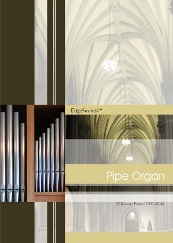 EdgeSounds Pipe Organ GigaStudio 3 Format DVD-ROM