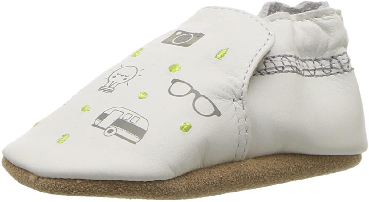 Robeez Kids' Random Icons Crib Shoe