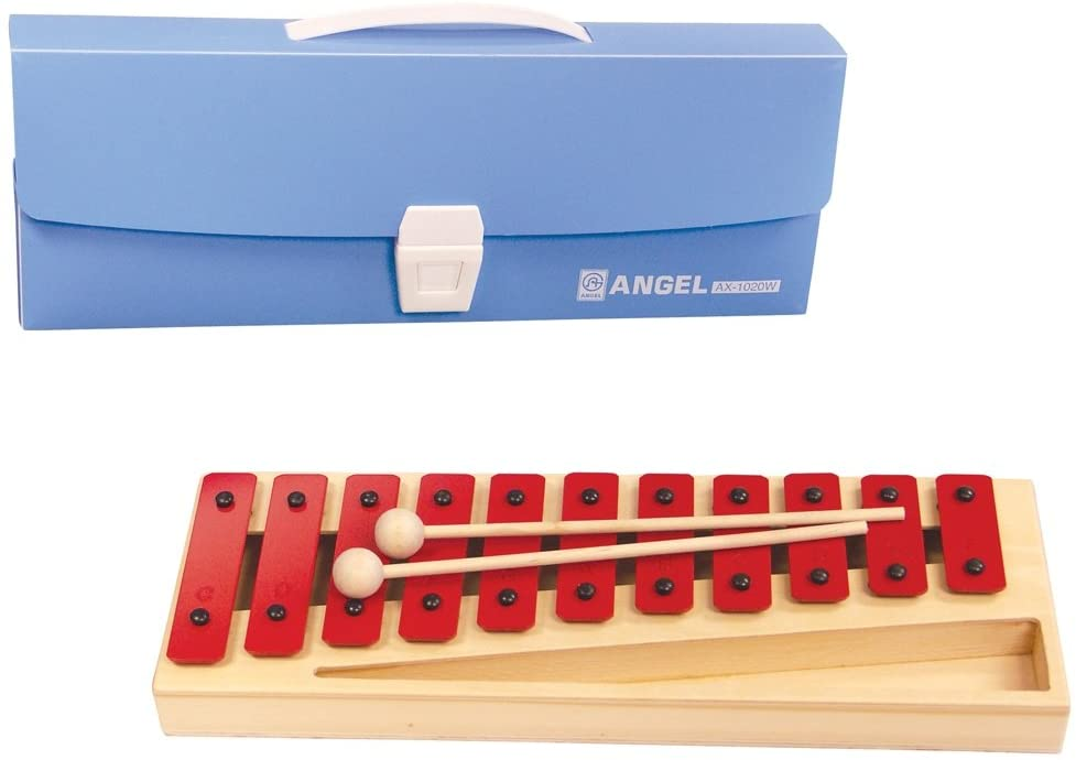 Angel 11 Note Diatonic Glockenspiel with Case