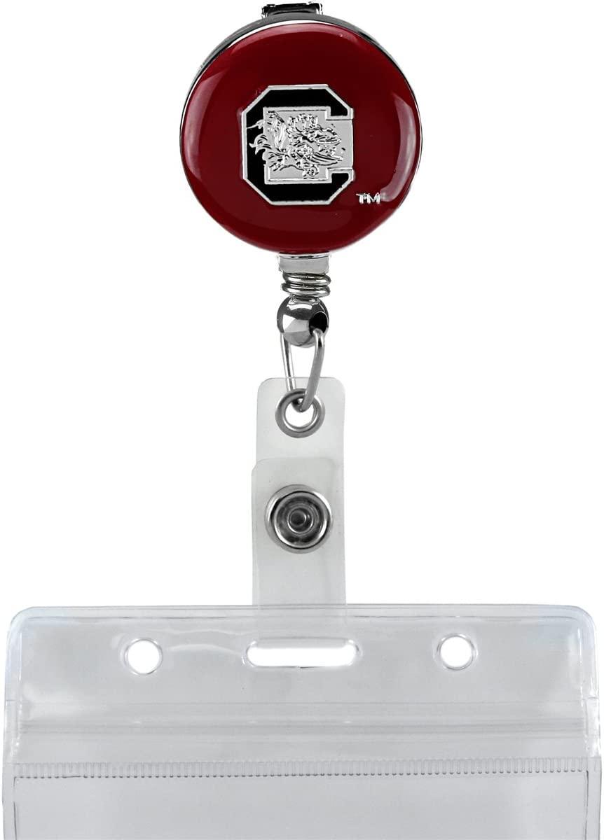 SANDOL University South Carolina Retractable Badge Reel