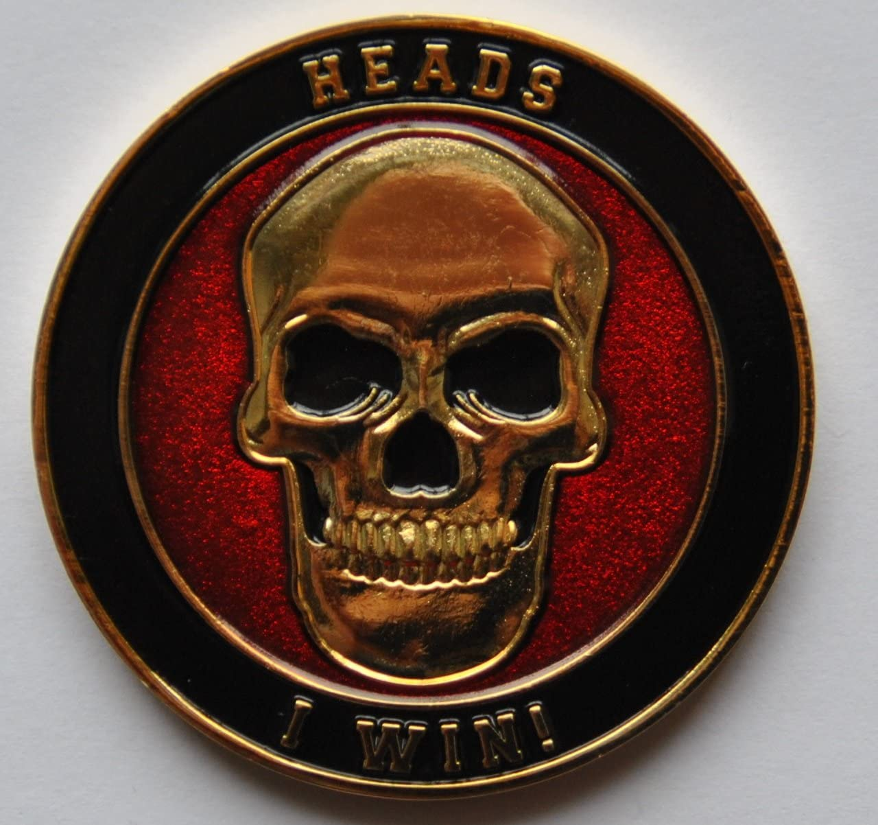 Challenge Coin Heads or Tails
