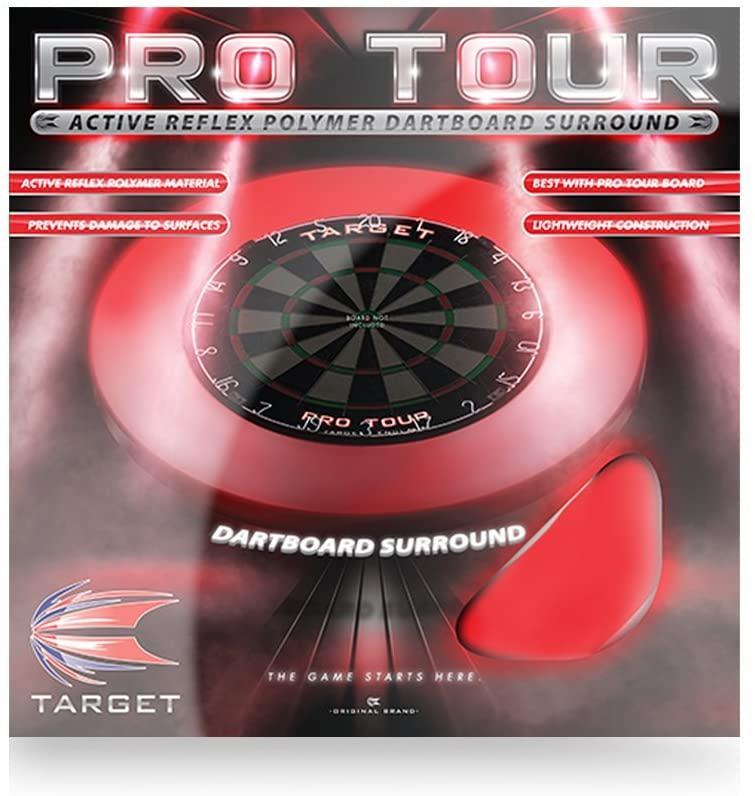 Target Pro Tour Dartboard Surround Matt Black