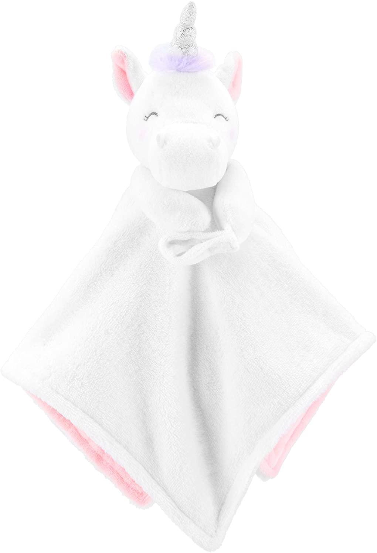 Carter's Unicorn Security Blanket White