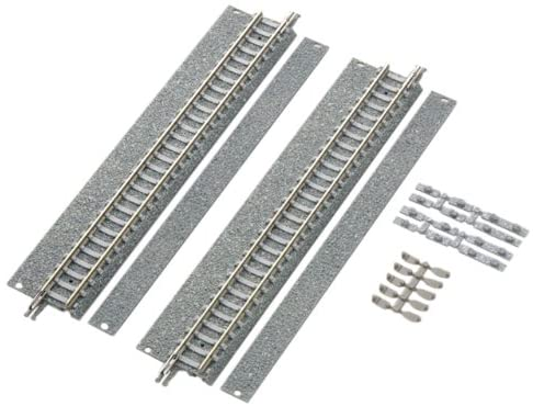 TomyTEC 017394 Model Railway Accessories 2 Straight Tracks, 140 mm