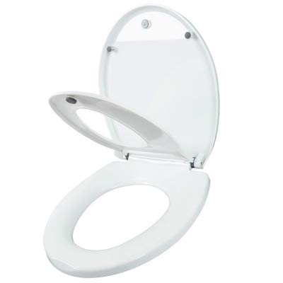 2-in-1 Potty Training Seat Round Adult Portable Toilet Seat with Child Potty Training Cover