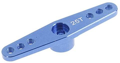 Parts & Accessories 2019 New 47mm 2 Point 25T Throttle Servo Arm Teeth Tooth Full Horn for 1/8 1/10 RC Car RC Servo Arm Horn - (Color: Dark Blue)