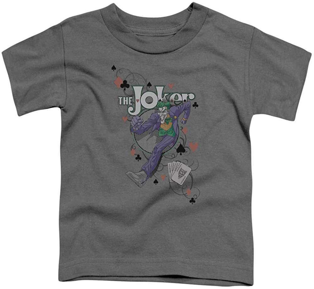 Batman Always A Joker Unisex Toddler T Shirt for Boys and Girls