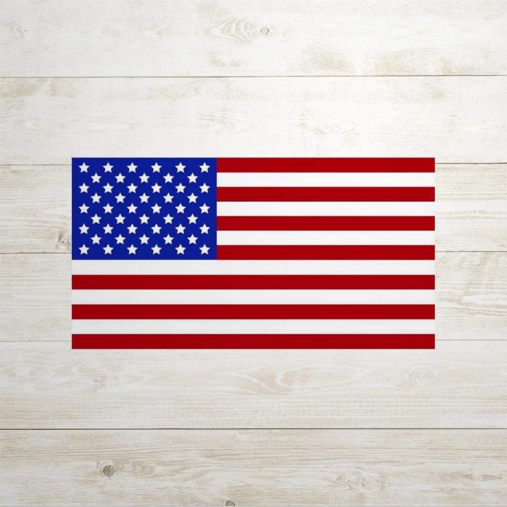 American Flag auto Sticker,Vinyl Car Decal,Decor for Window,Bumper,Laptop,Walls,Computer,Tumbler,Mug,Cup,Phone,Truck,Car Accessories