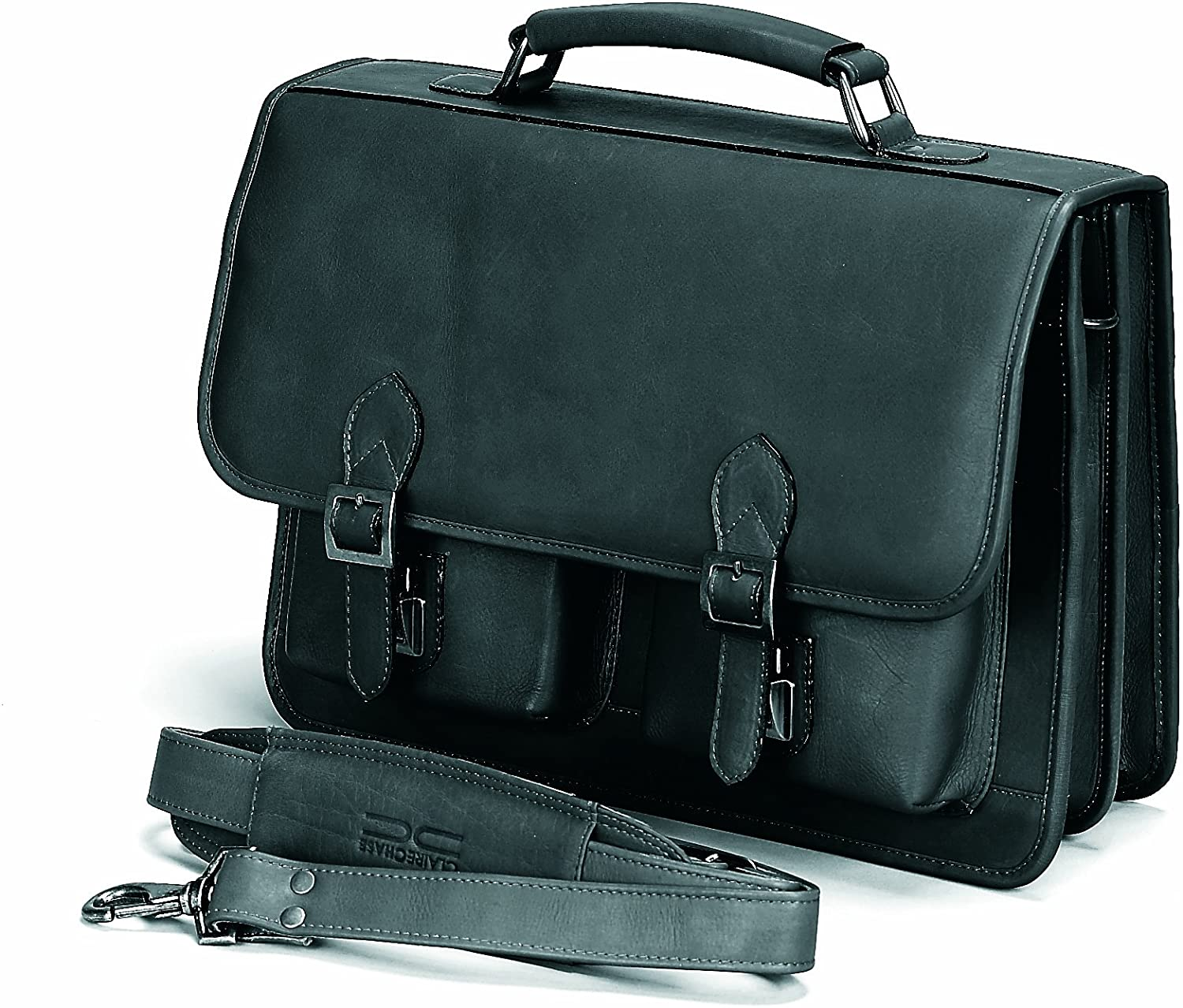 Claire Chase Business Briefcase, Black, One Size