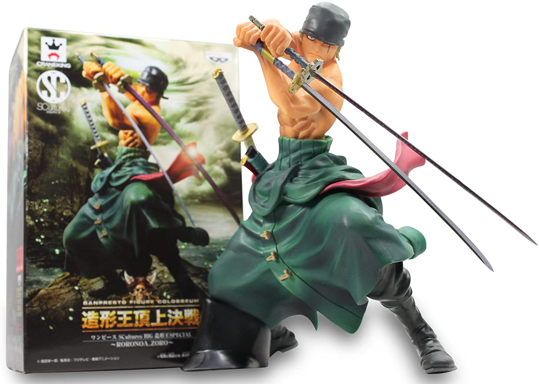 One Piece-scultures-big-zoukeioh-special Roronoa Zoro by BANPRESTO